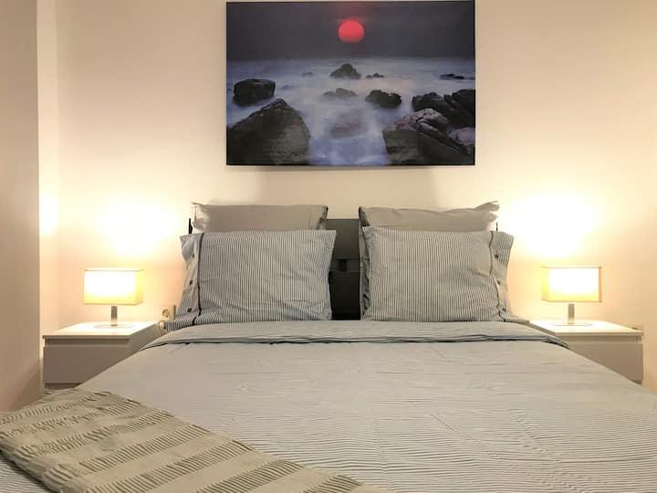 Lavender Double Bedroom
