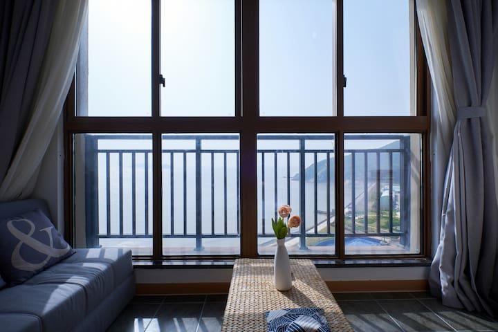 嵊泗天悦湾度假村全海景公寓(2号楼1202室 在菜园镇石柱村)