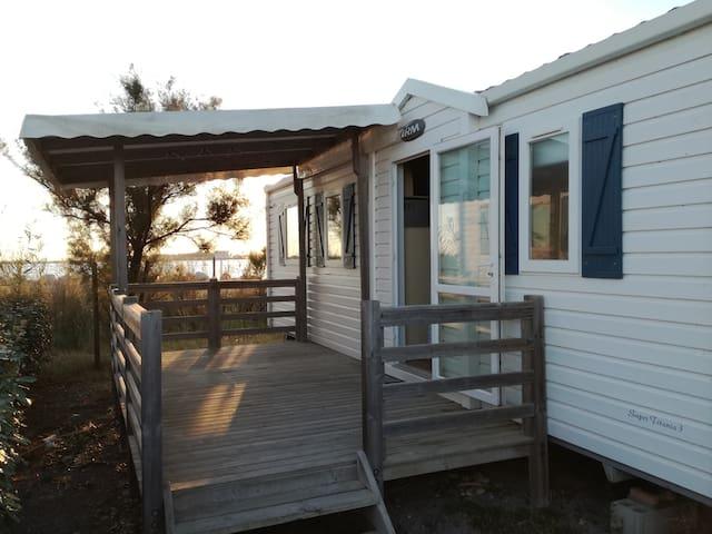 mobile home 6personnes Camping 5***** sur la plage - Palavas-les-Flots - Annat