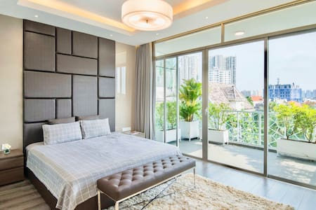 Luxury Apartment with Large Balcony in Thao Dien