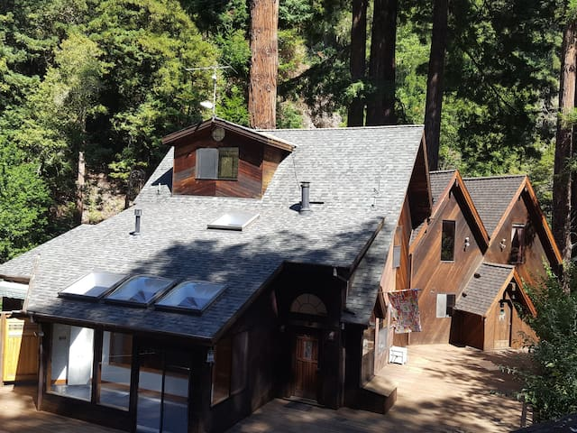 Beautiful retreat in the redwoods @ La Honda