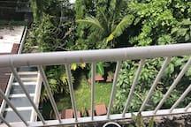 Public balcony view