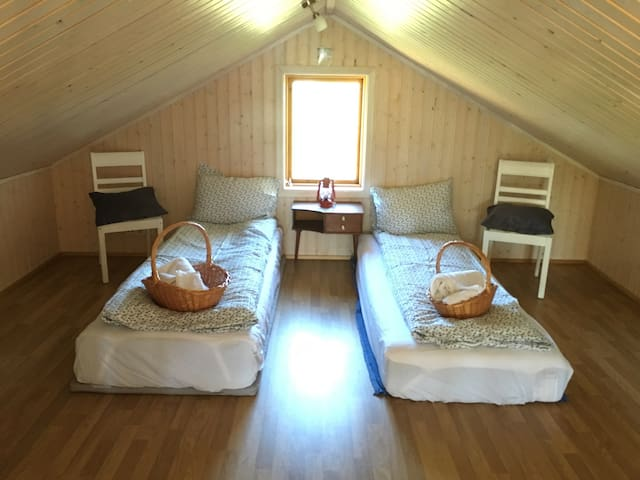 Cozy Summerhouse with a beautiful view. - Selfoss - Chalet