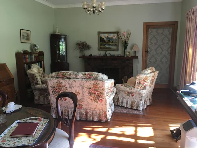 Guests lounge dining room