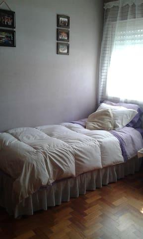 Cuarto c/baño, escritorio y wifi c/mucha luz! - Buenos Aires - Bed & Breakfast