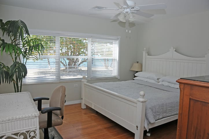 Master Bedroom looking out to    ocean view