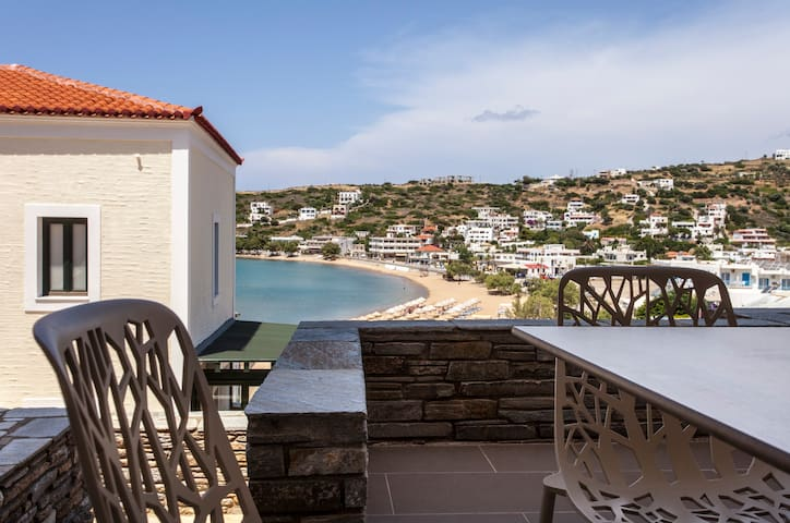 Andros Sea View Beach Apartment - Andros - Huoneisto
