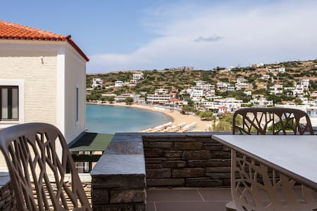 Andros Sea View Beach Apartment - Andros - Apartment