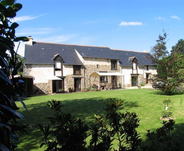 Très agréable maison entre Rennes et St Malo - Québriac - Haus