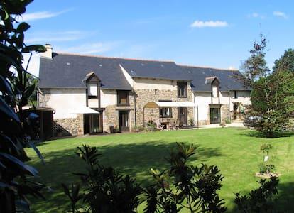 Très agréable maison entre Rennes et St Malo - Québriac - Dom