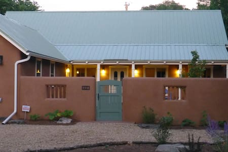 Old-world charm and luxury in a new adobe - Taos