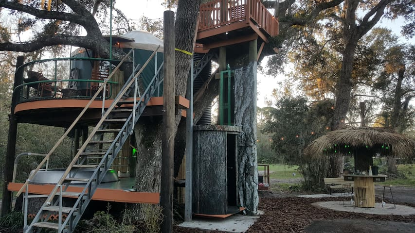 Tree House on property also available