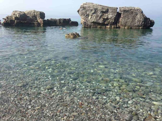 Local beach Malevic