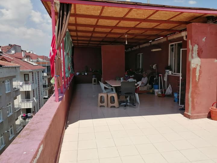 Relax and Fresh Apartment Near Atatürk Airport.