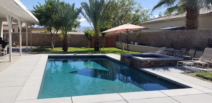 Indio Home w/ New Pool & Spa, 5 Miles to Festival