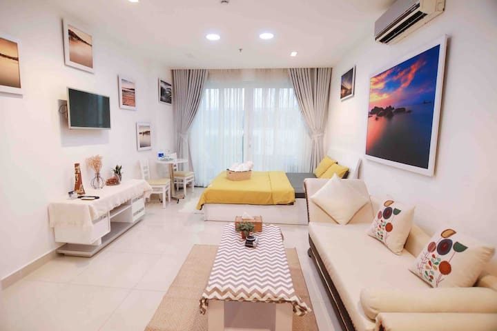 Jolie Home🏡Pool❤️Gym🌟Full Equiped ❤️Near airport💫