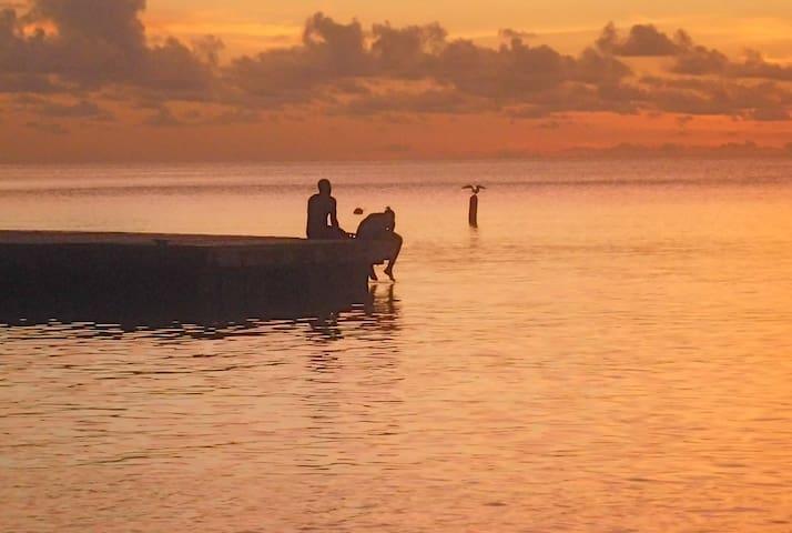 Sunset at Coconut Beach