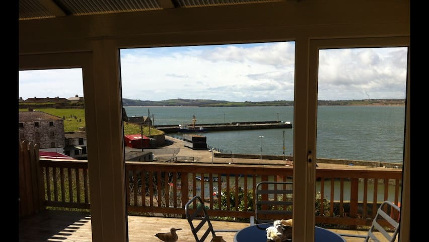 Harbour View from Dining Table