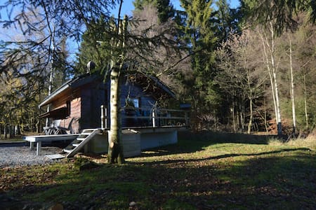 Rustic Chalet, ultimate relaxation in the forest