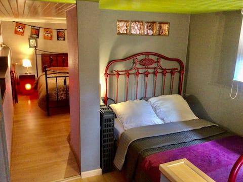 Komfortables, geräumiges und ruhiges Appartment.