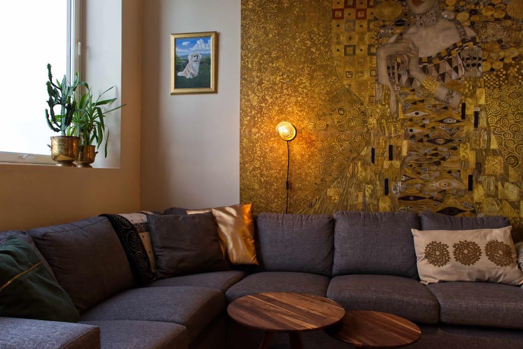 Cozy sofa