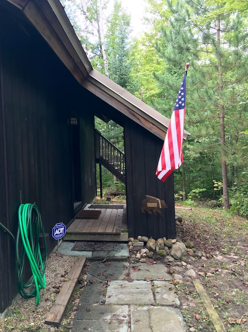 Entrance Into Chalet