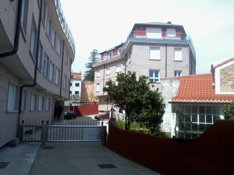 Ubicación apartamento.