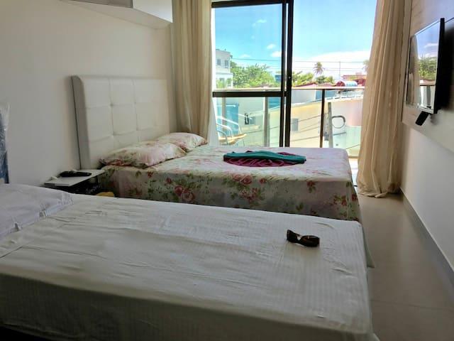 Flat/Studio Porto de Galinhas - 70 metros do mar - Ipojuca - Apartment