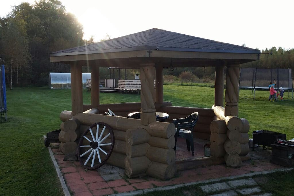 A nice place to grill or have meals outside