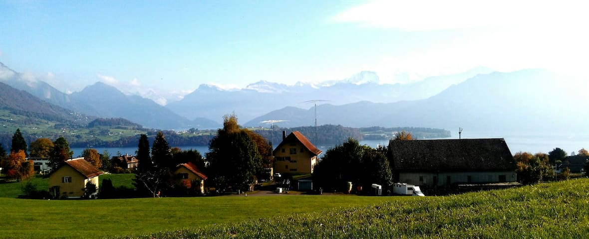 Old Farm House between Rigi and Pilatus - Meggen - Ev