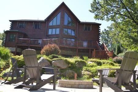 Castle Rock Lakefront Home - HGTV Log Cabin Living