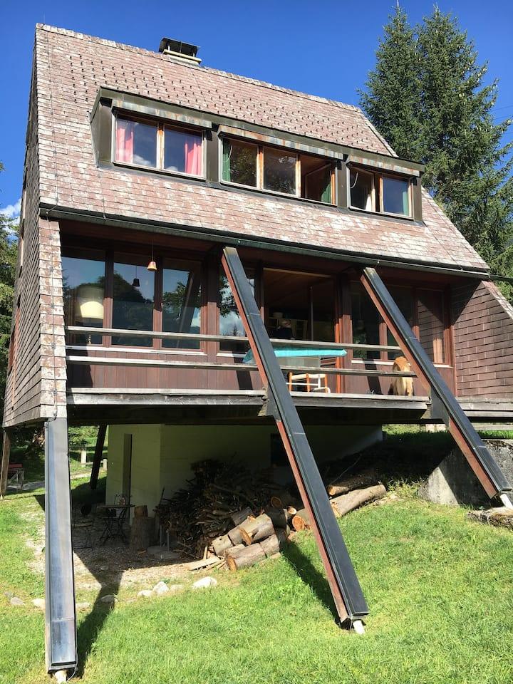 Gemütliches Ferienhaus im Ski- und Wandergebiet