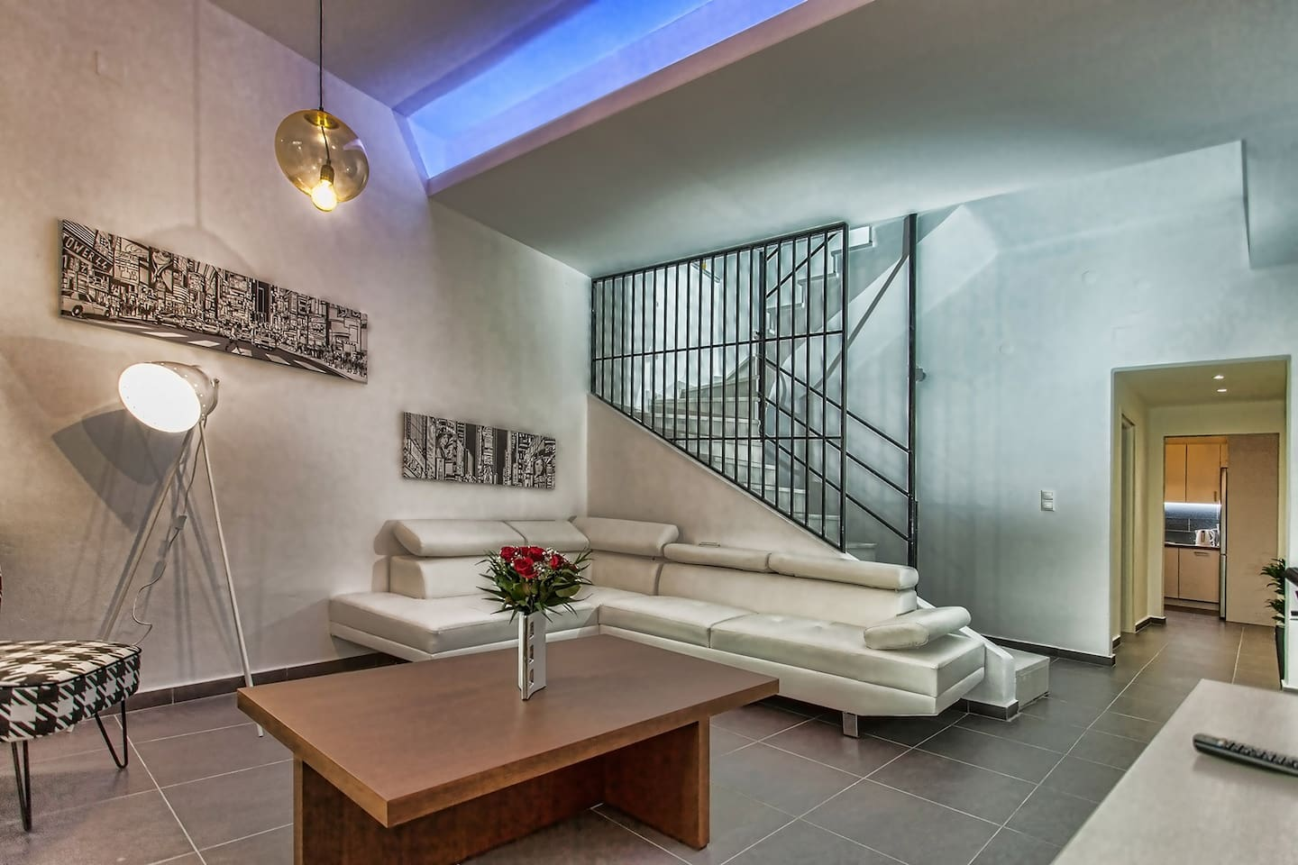 Loggia Loft apartment is recently renovated and modernly decorated!