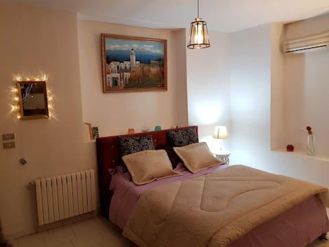Cosy Duplex - Villa with terrasse / View on Tunis