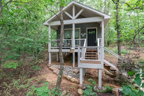 The Cottage at Stone Oak...Our place in the Woods!