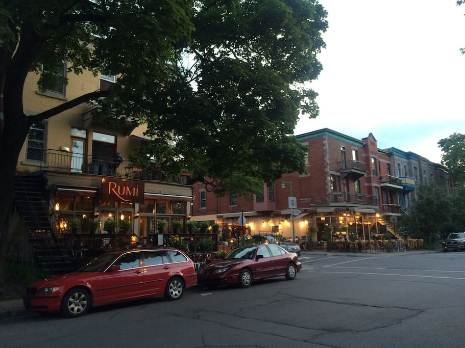 Our charming Montreal corner...