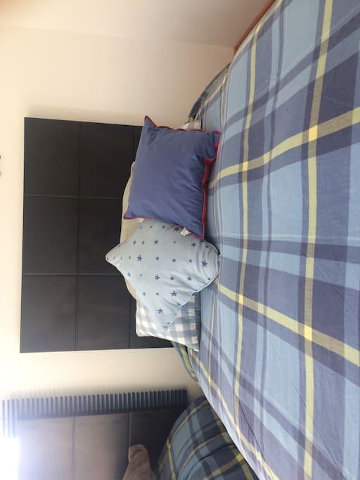 Una cómoda cama espera