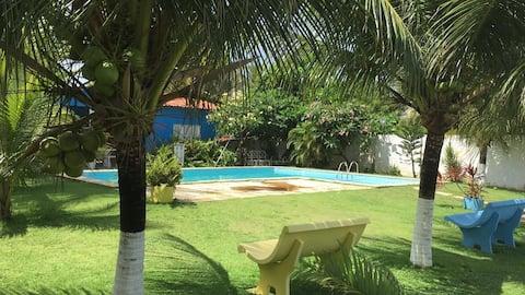 Apto, Praia e tranquilidade pertinho de Cumbuco!