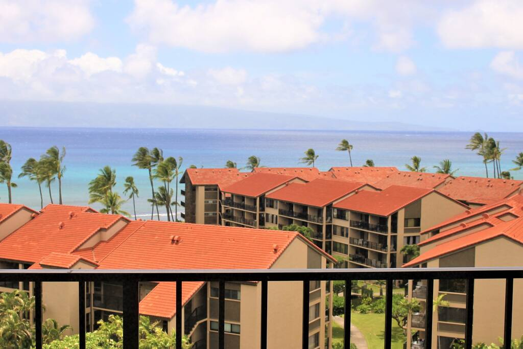 Penthouse Oceanview from Private Lanai