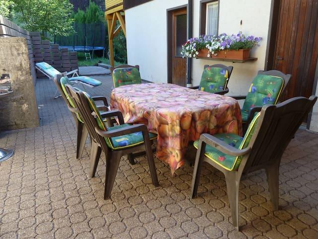 Terrasse Innenhof