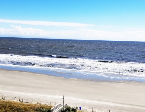 Gone Coastal Oceanfront 1BR at SeaWatch Resort