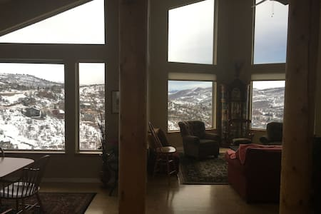 Home retreat with a view - Park City - House