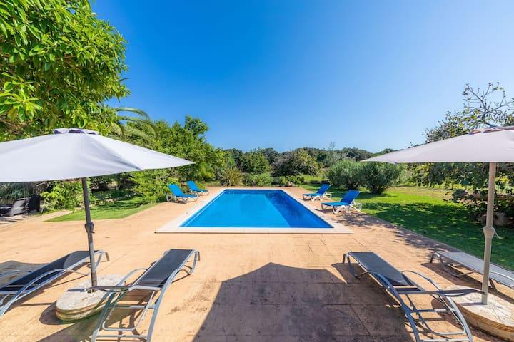 Rural, idyllic home with pool - Villa Can Sua