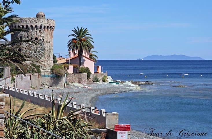 Jolie maison Cap Corse - Santa-Maria-di-Lota - วิลล่า