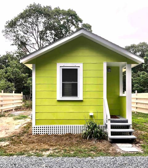 Tiny House (#2) with Private Patio