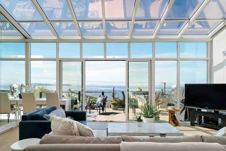 Prize Home Ocean View~The Affair! S.Sry/White Rock