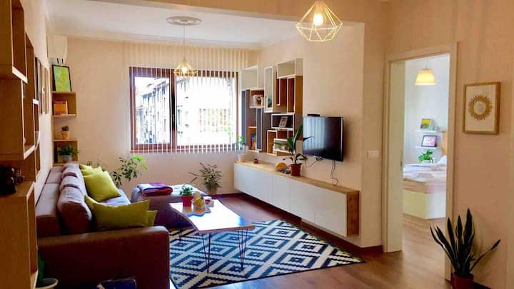 Beautiful Apartment Sofia#bul Vitosha #2min metro