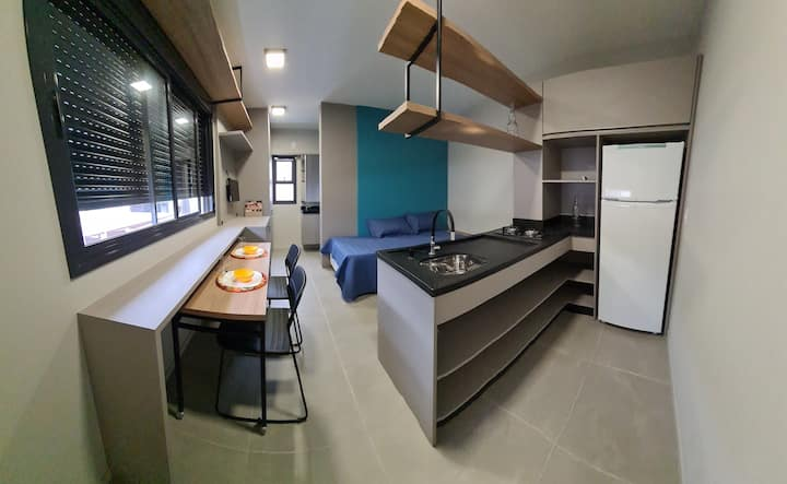 Loft moderno e funcional