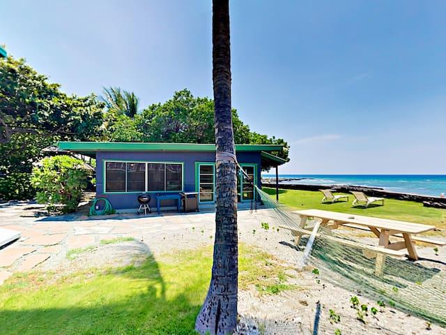 Idyllic 1BR Oceanfront Cottage