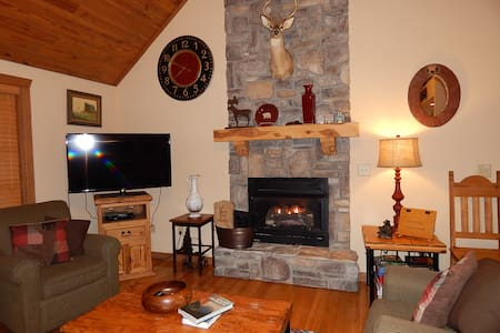 Rustic Cabin Retreat with NEW BBQ - Reeds Spring